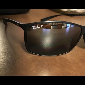 One pair of Ray Ban Lite Force RB4179 used